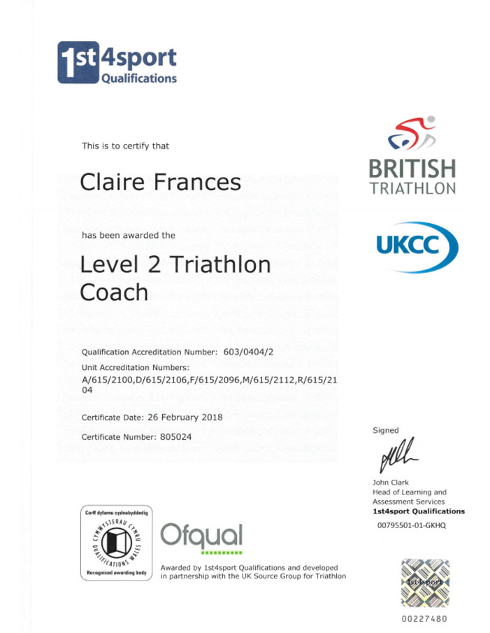 Tri Coaching Chippenham